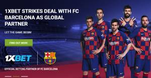 1xbet strikes deal with FC Barcelona as global partner